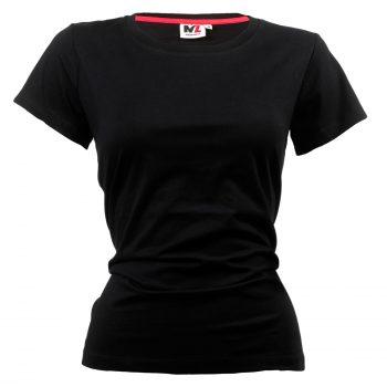 dam tshirt svart
